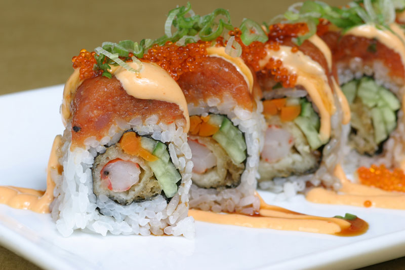 Red Dragon Roll Sushi | www.imgarcade.com - Online Image Arcade!