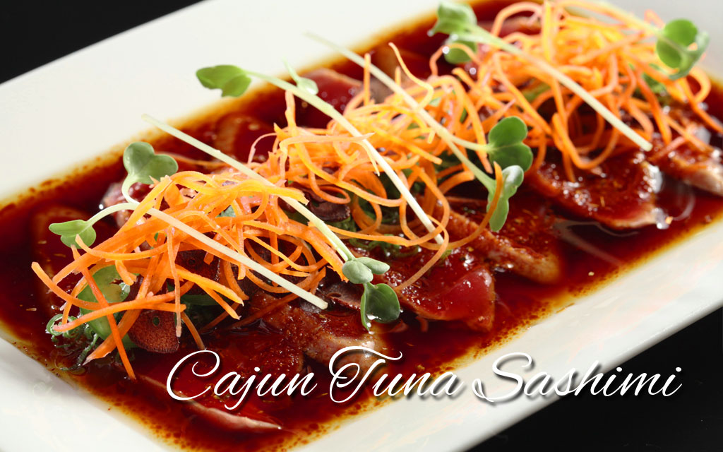 Cajun-Tuna-Sashimi