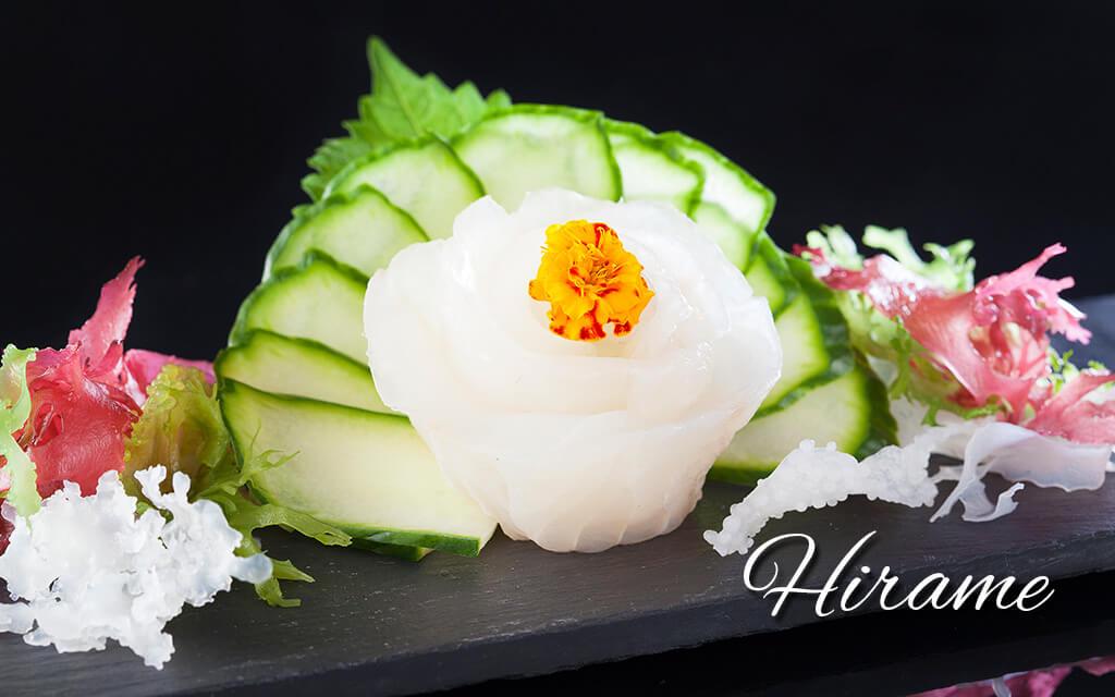 hirame-sashimi