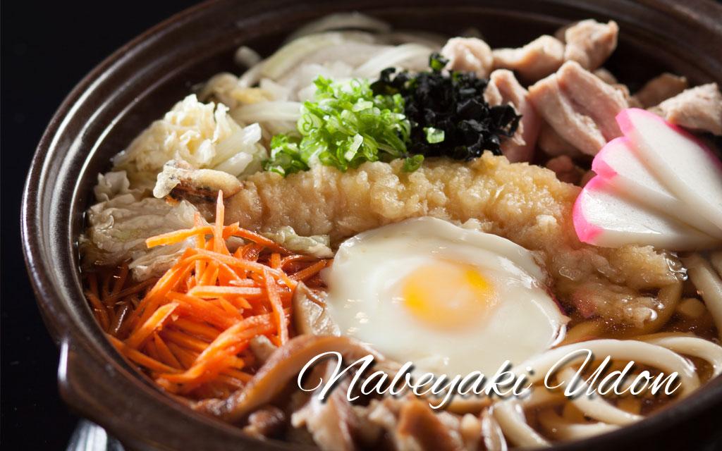 ... nabeyaki udon best udon ever mushroom chicken cabbage nabeyaki udon
