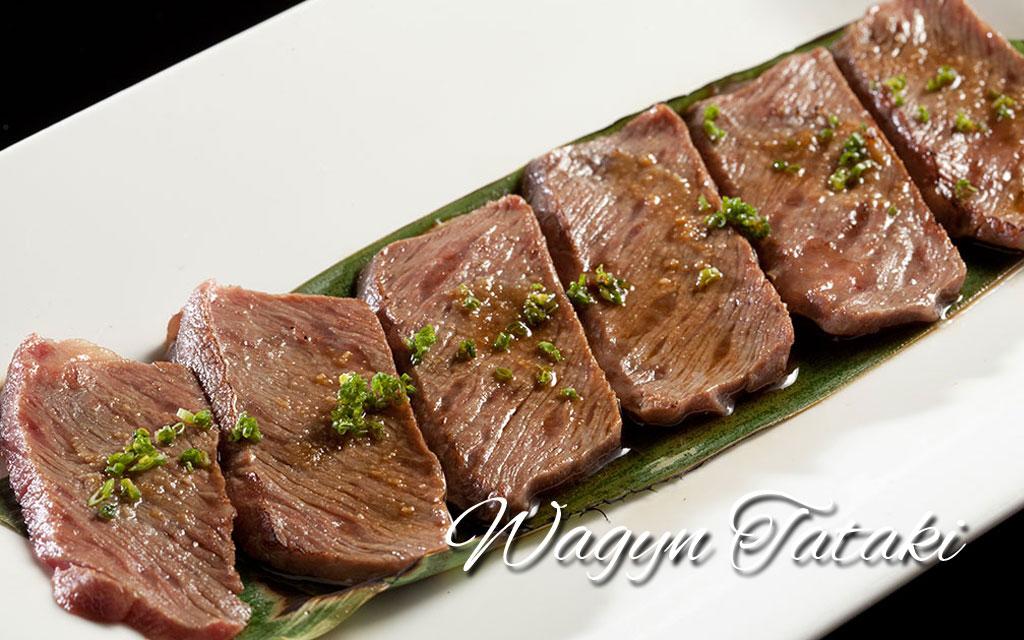Wagyu-Tataki