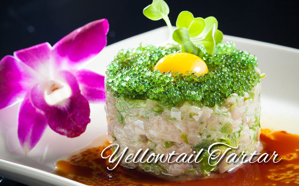 Yellowtail-Tartar