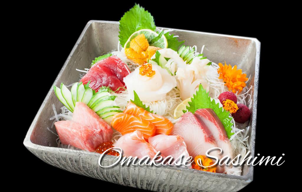 omakase-sashimi